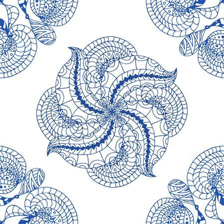 motif bleu transparente. Vecteurs