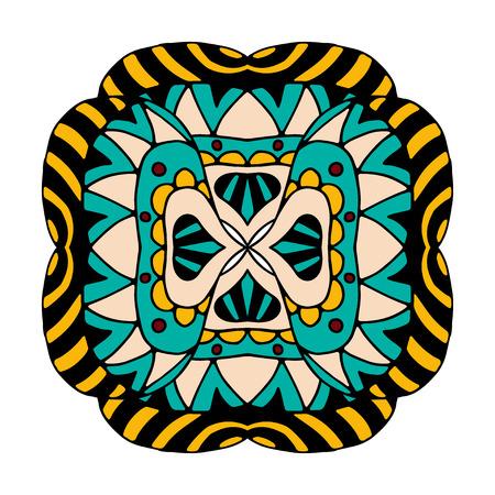 elementos: Elemento abstracto. Ilustración del vector. Aislado en blanco Vectores