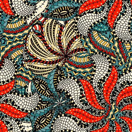 seamless floral: Seamless Floral Pattern.