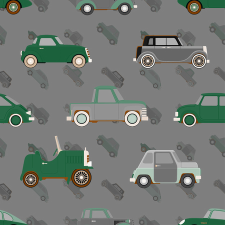 cute car: Seamless cute car pattern.