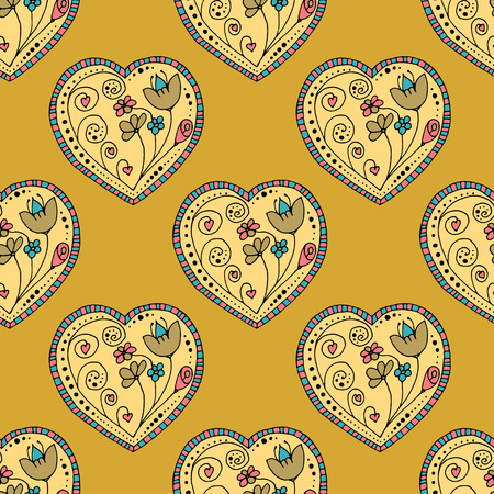 Seamless Pattern School Sketchy Doodle Design- Hand-Drawn Vector Illustration Background