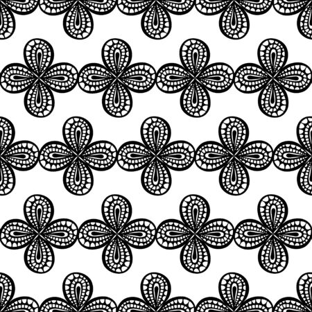 tribal style: Seamless Abstract Tribal Pattern. Vector illustration. Hand Drawn Texture