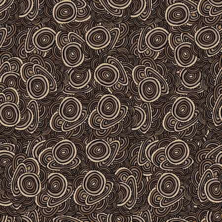 plywood texture: Seamless Pattern with Tree Rings. Vector background