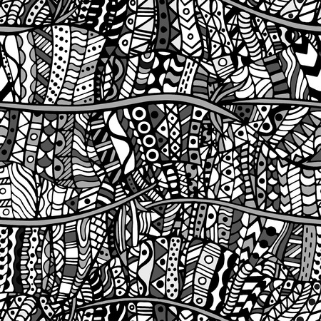 artistically: Artistically ethnic pattern. Hand-drawn, ethnic, floral, retro, doodle, vector, zentangle tribal design element. Pattern for coloring book.