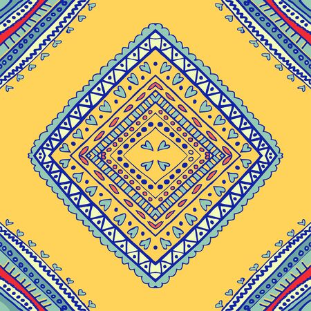 seamless tile: seamless pattern. Design for dutch tile, background