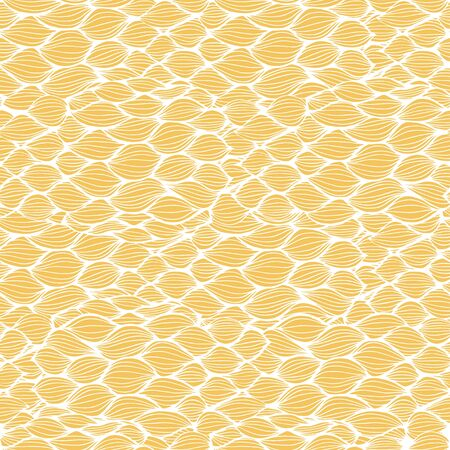 water weed: Seamless abstract hand-drawn pattern, waves background. Seamless pattern can be used for wallpaper, pattern fills, web page background,surface textures. Gorgeous seamless floral background