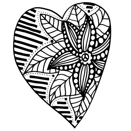 Number Names Worksheets pictures of flowers to trace : Heart Tattoo Wave And Flowers Tattoo Stock Photos Images. Royalty ...