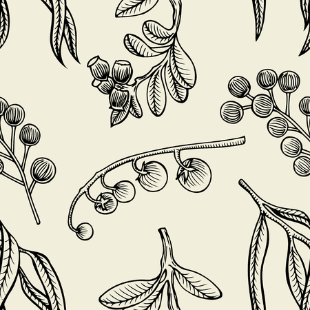 bilberry: Vector illustration sketch doodle hand-drawn set different berries isolated on white background. Set of elements of berries for seamless pattern.