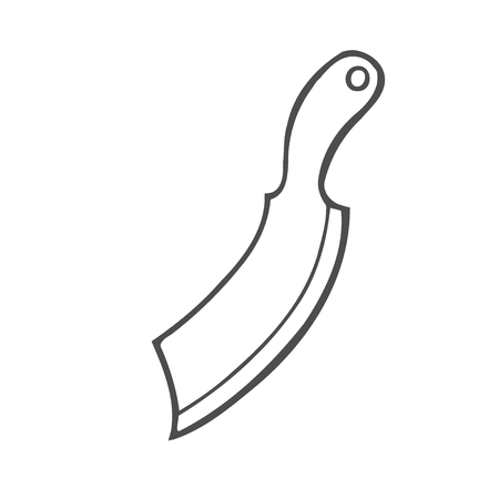 Timber Axe Hand drawn sketch illustration vector