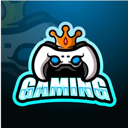Game king esport logo design