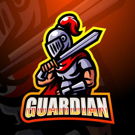Guardian mascot