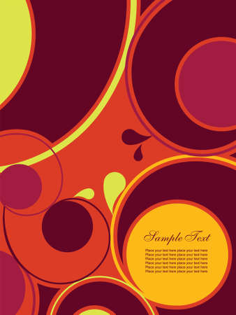 Abstract background with swirls.