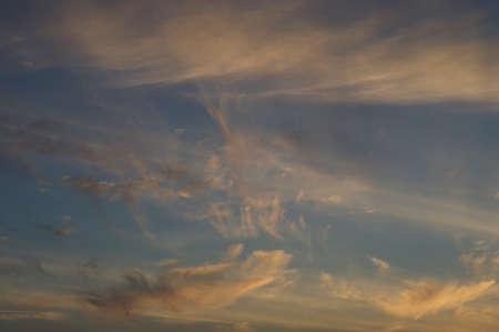 cloud scape: Beautiful sunset cloud scape Stock Photo