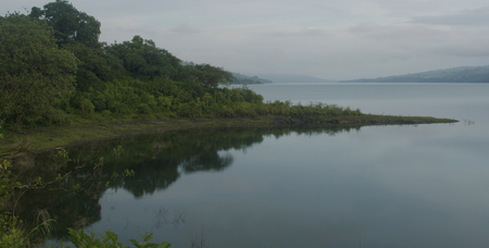 Reflections on Lake Arenal in Costa Rica