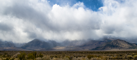 A stormy day in Bishop CA.