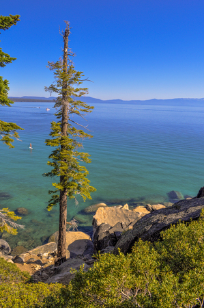 A beautiful day on Lake Tahoe. Reklamní fotografie