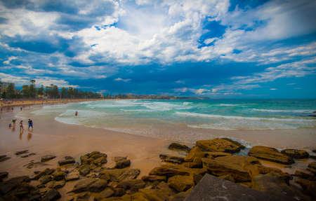 nsw: Manly Beach, Sydney Stock Photo