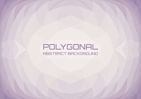 Low poly light lilac abstract background. Geometric triangulation consisting of triangles with space for text.