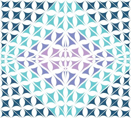 Light blue polygonal abstract made of flowers pattern and gradient, dark in the center. Background suitable for cover poster or backdrop.