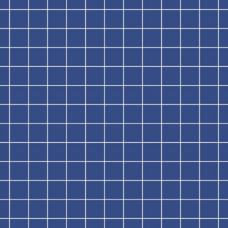 Blue seamless pattern with white grid lines