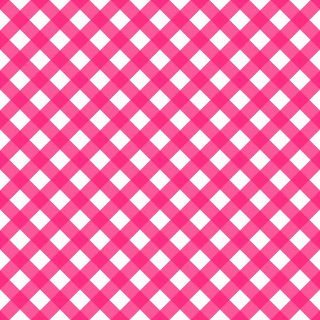 Pink and white plaid seamless pattern 向量圖像