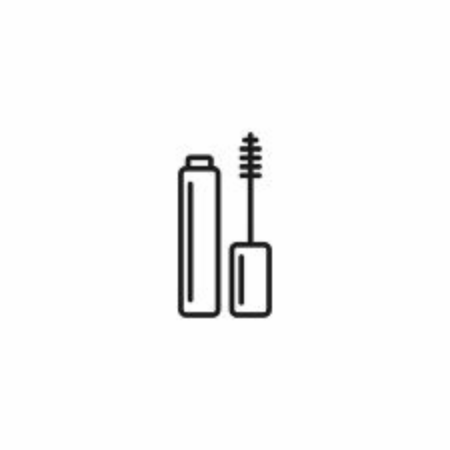 Mascara icon vector on white background