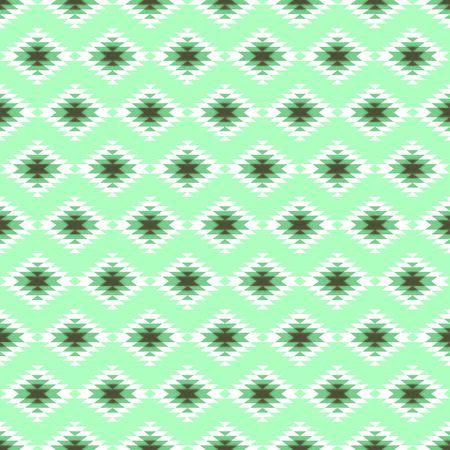 Seamless pattern with blue kilim