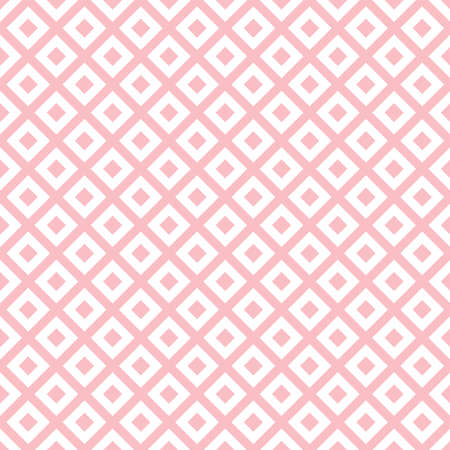 Abstract seamless pattern with pink rhombuses 向量圖像