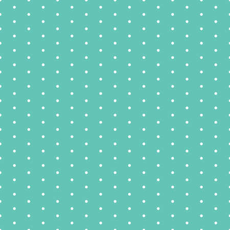 Blue polka dots seamless pattern Ilustración de vector