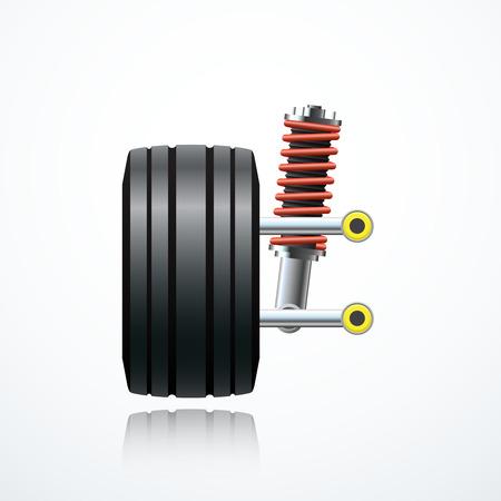 coil car: car suspension