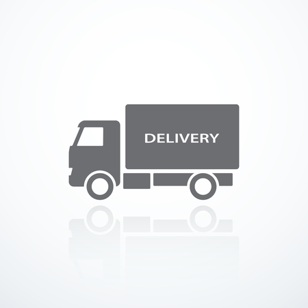 express delivery: Delivery truck icon