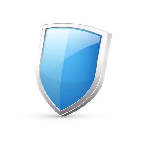 escudo: escudo azul Vectores