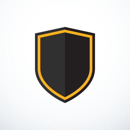 protection icon: Vector shield icon. Protection icon