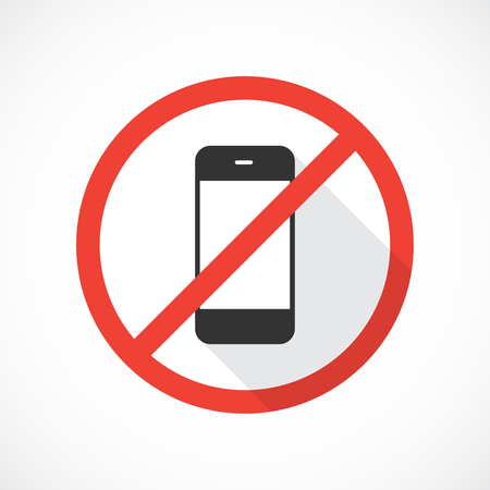 no cell phone sign: No cell phones icon