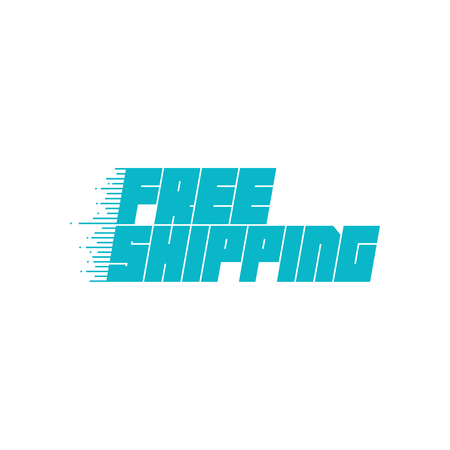 Free shipping icon. Vector illustration