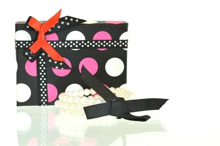 Gift box and bracelet photo