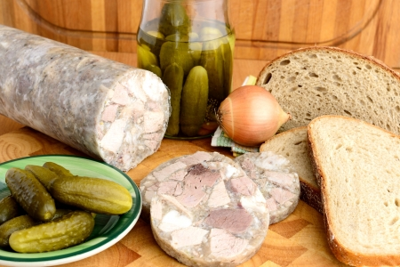 Traditional Czech Food - Headcheese