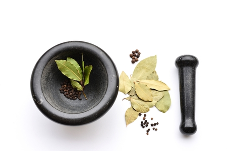 Mortar and Pestle wirh Spices