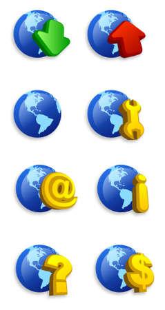 ico: Internet icon set