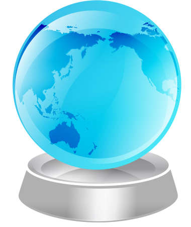 rt: Illustration of the globe, isolated against a white background. Part of the tekno icon set.