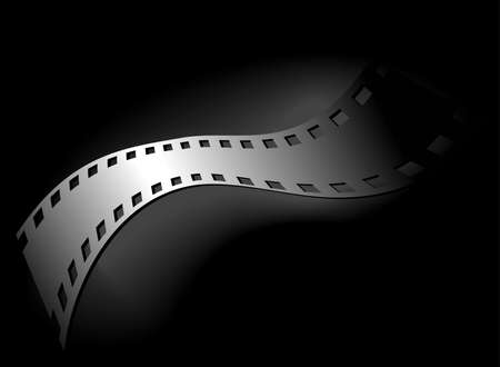 overexposed: Artistic background of 35 mm film, black version Stock Photo