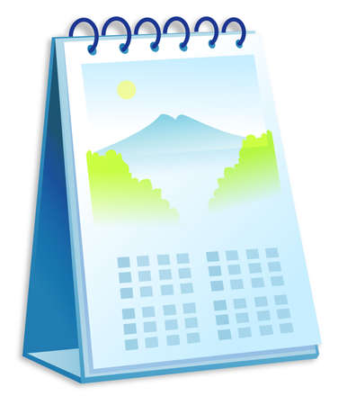 chronology: Desk Calendar