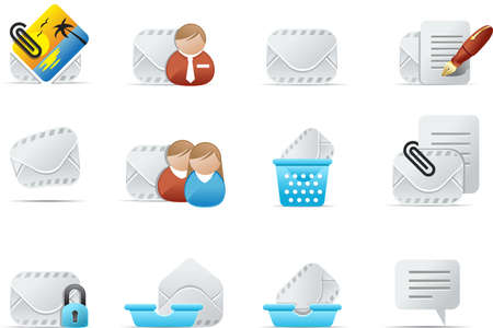 Professional email icons for internet, website and application.   Emailo Icon s#2