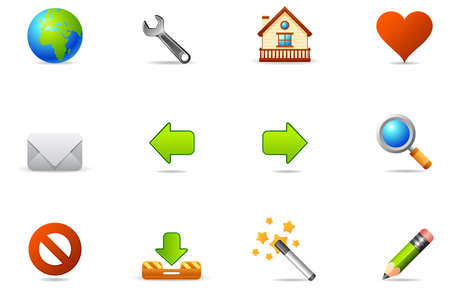 downstream: Philos icon set. Professional icons  for website and presentation.