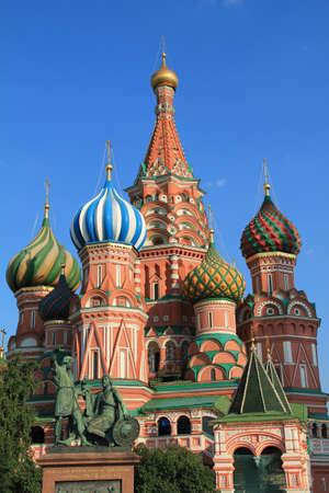 st basil s cathedral: St  Basil s Cathedral Stock Photo