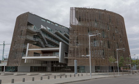 The center of medicobiological researches in Barcelona