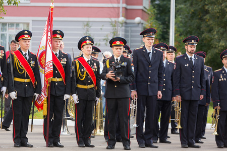 Parade on September 1 in the First Moscow Cadet Corps Editorial