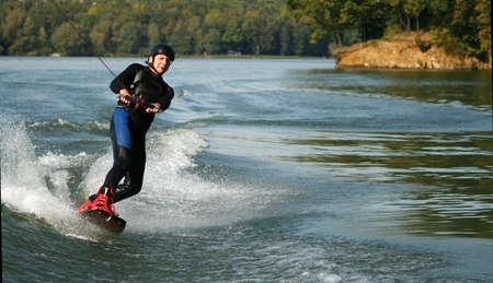 watersport: Wakeboarding Stock Photo