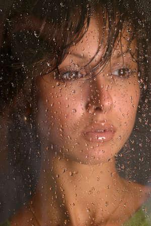 The beautiful girl in studio Stock Photo - 564540