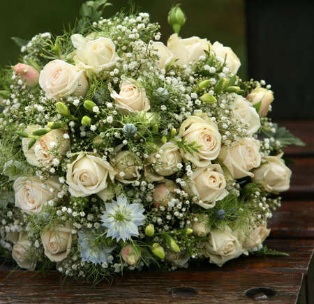 forgotten: The forgotten wedding bouquet from roses
